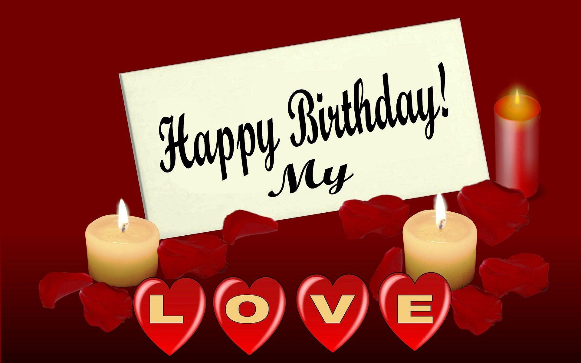 special birthday messages to my love